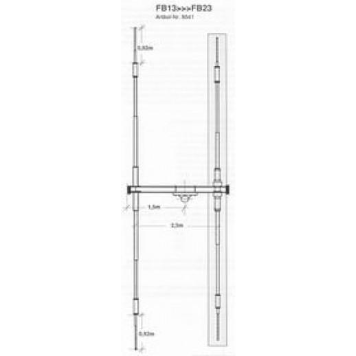Antena Directiva, Fritzel, FB 13, Extesie pentru FB 13, ( 1 Element ), La FB 23, ( 2 Elementi )