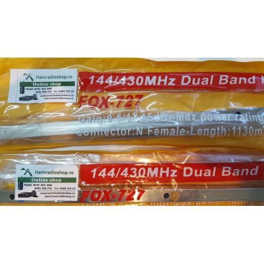 Antenă Directivă, FOX 727, Yagi, 144/430 MHz