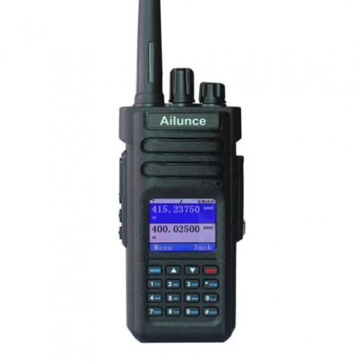Ailunce HD1, Portabila, Dual Band, DMR, FM, GPS