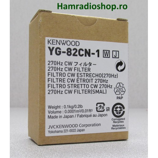 Filtru, Kenwood, YG 82 CN1,  270 Hz, TS 890 S