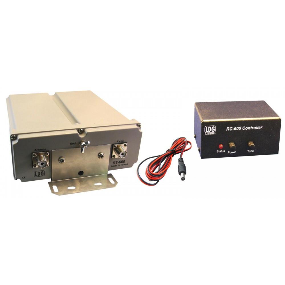 Antena Tuner Automat Extern, LDG, RT/RC 600, Telecomandă