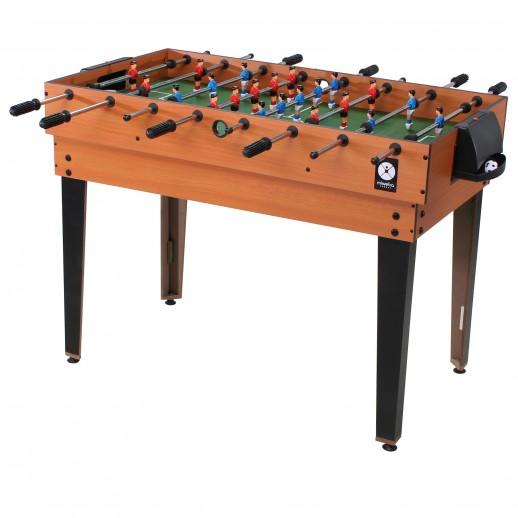 Masă Fotbal, Hobbyfashion, Multifuncțională Pentru 15 Jocuri, Maro