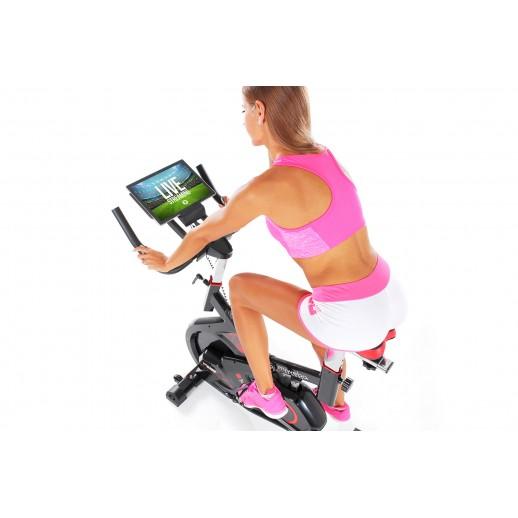 Bicicletă fitness, Hobbyfashion, MS300, Medicinală, Negru