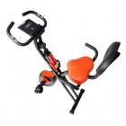 Bicicletă fitness, Hobbyfashion, MX 100 X-Bike, Medicinală, Negru/Rosu