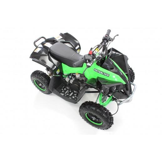 ATV, Mini Quad, Reneblade, 49 cc, Verde/Negru