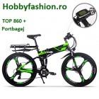 Bicicletă, Electrică, Rich Bit, 36 V, 250 W, Roti 26, Plus