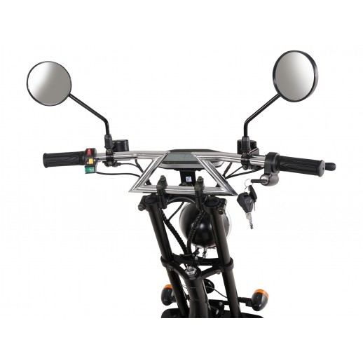 Scuter, eFlux, Harley Two, 1500 W, 60 V, 20 A, 2 locuri