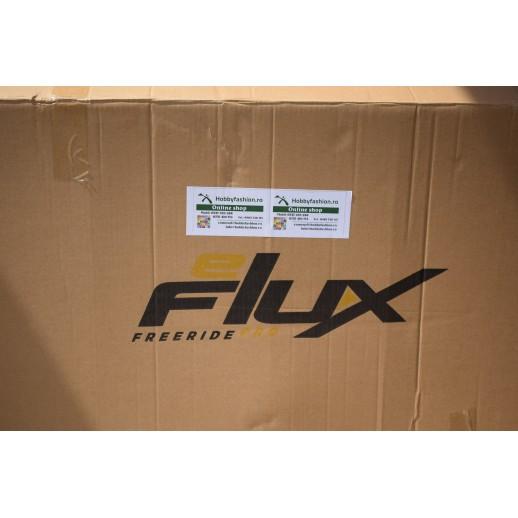 Trotineta electrica,Scuter E Flux Freeride PRO,1600 Wati, 48 V cu  Far Led, Scaun, Roti 13x5-6
