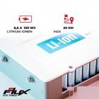 Trotineta Electrica, eFlux, Roti 5.5, Motor 250 Wati, Alb