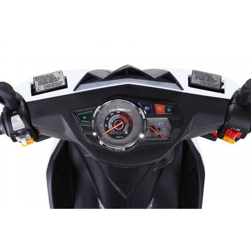 Motoretă, Benzină, Sport, Matador, JJ125QT-17, 125cc, Euro 4, Roșu / Alab
