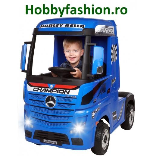 Actros, Mercedes, Benz, Camion, Albastru