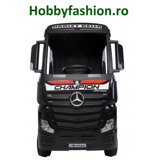 Camion, Mercedes, Benz, Actros, Negru