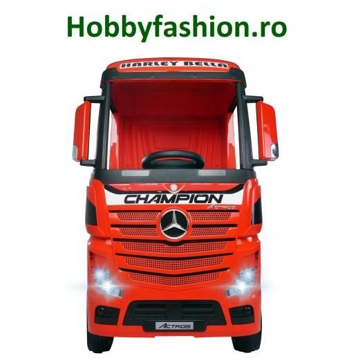 Camion, Mercedes, Benz, Actros, Roșu