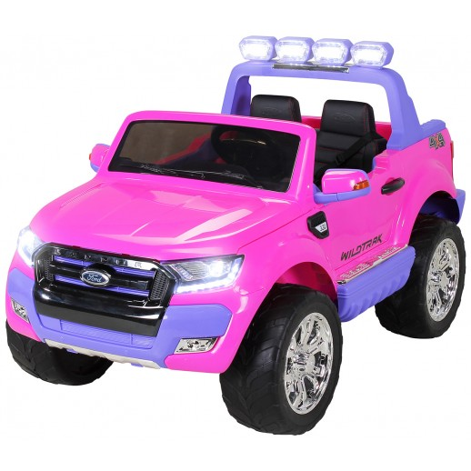 Mașinuță electrică, Ford Ranger, 2018, 2 locuri, Roz